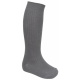 Junior boys long grey socks (Twin pack)  (Rec - Y6)