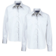 Senior girls long sleeve white blouse  (Twin pack)
