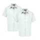 Senior girls short sleeve white blouse (Twin pack)