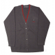 Black V neck Unisex cardigan - optional for year 10 and 11 only