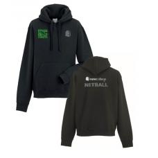 Netball hoody (in black)