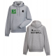 Netball hoody (in grey)