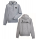 Basketball  hoody (in grey)