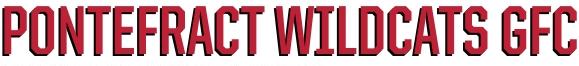 Pontefract WIldcats banner logo